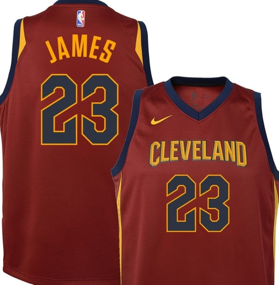 promo code 325de e143d Youth Nike NBA Swingman LeBron James Jersey NWT